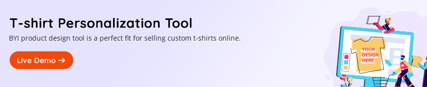 T-shirt Personalization Tool