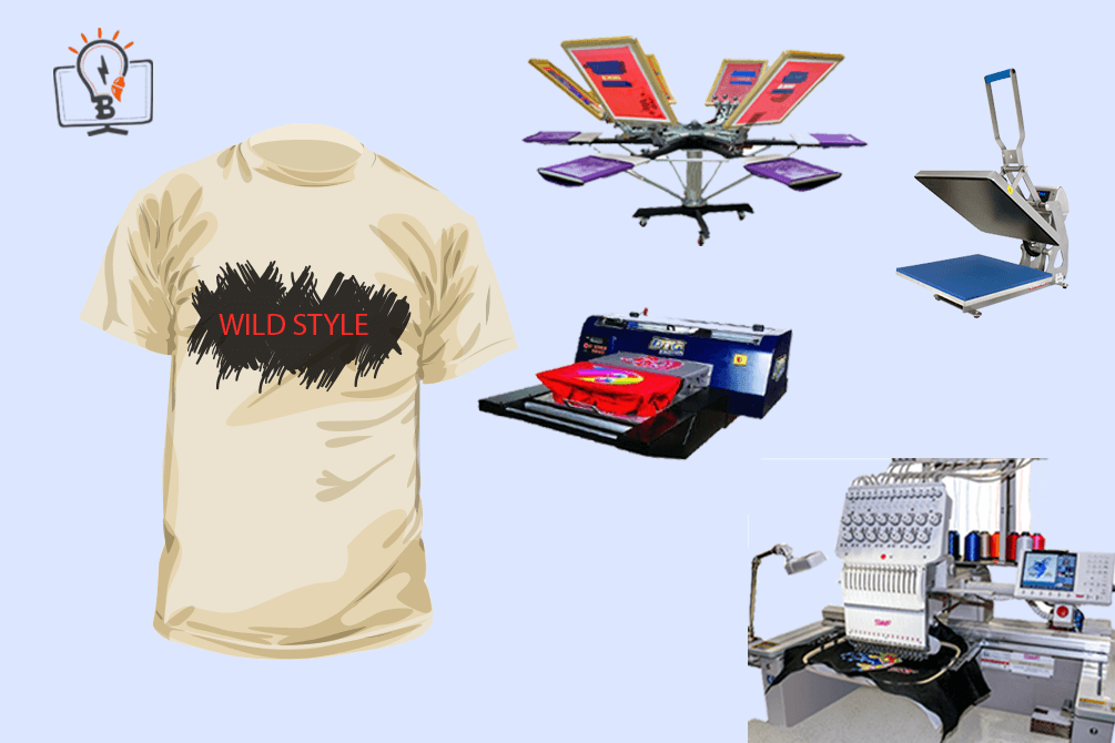Online t shirt printing business